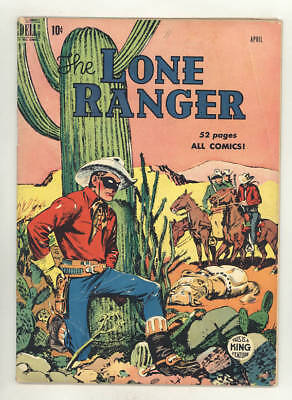 April 1950 THE LONE RANGER #22 comic book with pre-mask logo
