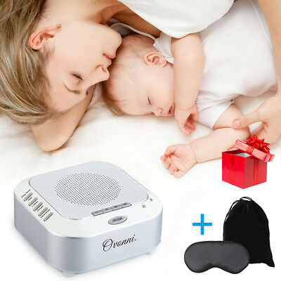 Sound SPA Relaxing Machine White Noise Nature Peace Baby Therapy Sleep Night