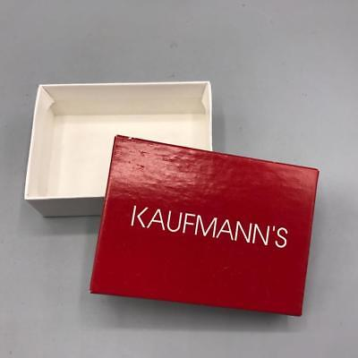 Vintage Kaufmanns Pittsburgh Department Store Jewelry Gift Box
