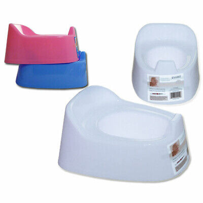 Portable Infant Baby Toilet Potty Training Chair Splashguard Lightweight BLUE A2