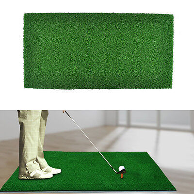 HOT Golf Praxis Matte Anti Skid Chipping Driving Range Training Aid All Turf   ^