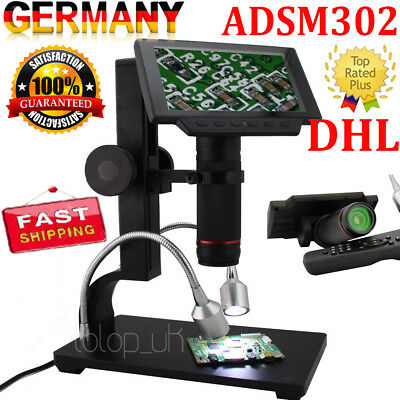 Andonstar ADSM302 1080P HDMI/AV Digital Microscope Magnifier for PCB Repair Tool