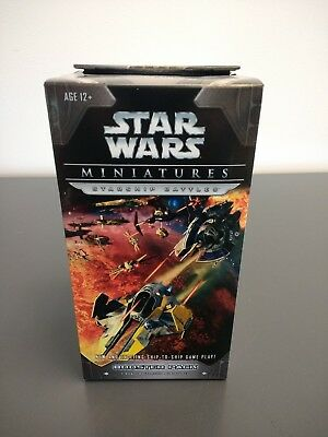 ONE (1) NEW WOTC Star Wars Miniatures: Starship Battles Booster Pack - SEALED