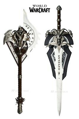 WORLD OF WARCRAFT - FROSTMOURNE/SHADOWMOURNE SET (with FREE WALL PLAQUES)