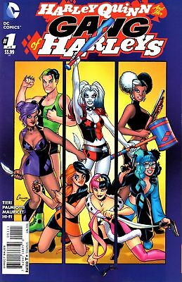 Dc Harley Quinn And Her Gang Of Harley's #1 First Print