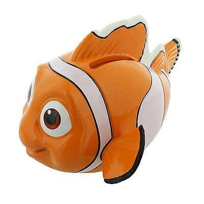 Nemo Orange and White Clown Fish money Box - Comes Boxed