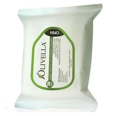 Olivella Face Cleansing Tissue 30p.