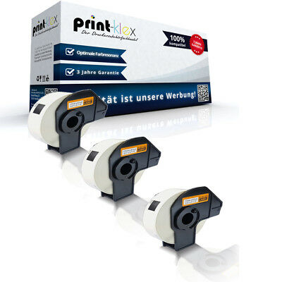 3x Compatible Premium Label Rolls for Brother Dk11204 Multi-Purpose Label-Easy