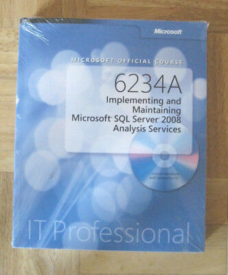 Microsoft Official Course 6234A - MOC 6234 A - Buch - SQL