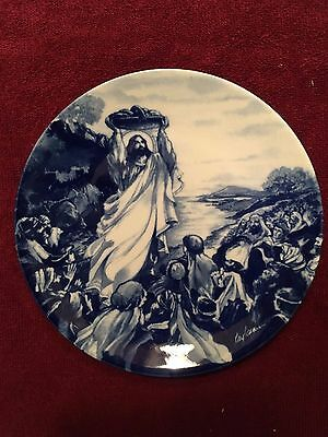 """""""Jesus Feeds The Multitude"""" 1993 Avon Collector Plate"""