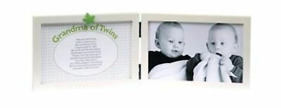 The Grandparent Gift Co. Sweet Somethings Frame, Grandma of Twins