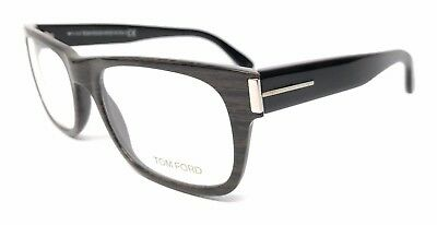 93d2b2a07a Tom Ford Tf 5274 050 Wood Brown blk Eyeglasses Authentic Rx Frames Tf5274 52 -