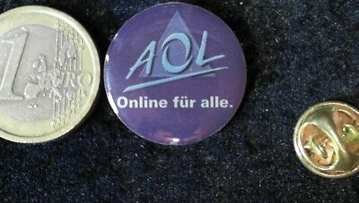 IT Cebit IFA Technology AOL Online für alle Pin Badge Anstecker