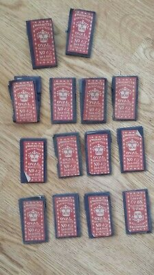 14 Vintage packages of Oval Perfecteyd Sharps 1/5 sewing needles