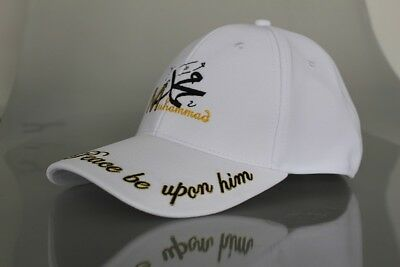 BASEBALL CAP EMBROIDERED Prophet MUHAMMAD Peace be Upon Him Ideal Muslim Gift