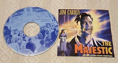 THE MAJESTIC by Various Artists Jim Carrey Original Motion Picture Soundtrack CD