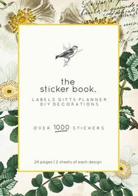 Kaisercraft Sticker Book Planner stickers with gold foil accents - Botanical