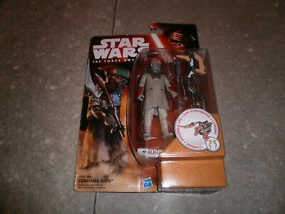 "Figurine STAR WARS ""THE FORCE AWAKENS"": CONSTABLE ZUVIO - NEW SEALED"