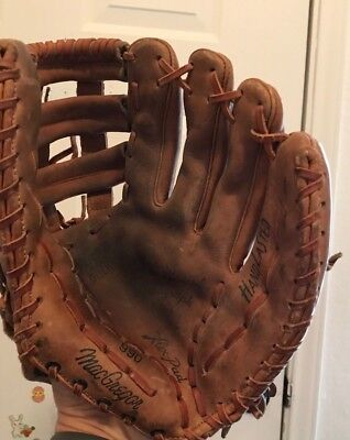Roberto Clemente MacGregor Baseball Glove 990 Autograph Model Right handed throw