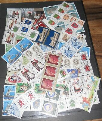 Latvija Joined Stamps