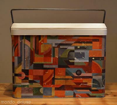 retro mid century danish modern abstract atomic Willow cooler