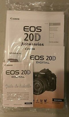 Canon eos 20d instruction manual.