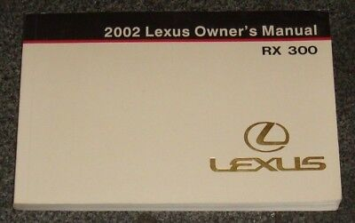 2002 lexus rx300 owners manual 20 00 picclick rh picclick com 2002 lexus rx300 repair manual pdf 2002 Lexus RX300 Under Hood