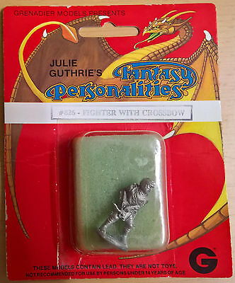 Grenadier #826 Fantasy Personalities - Fighter with crossbow (Sealed, Near Mint)