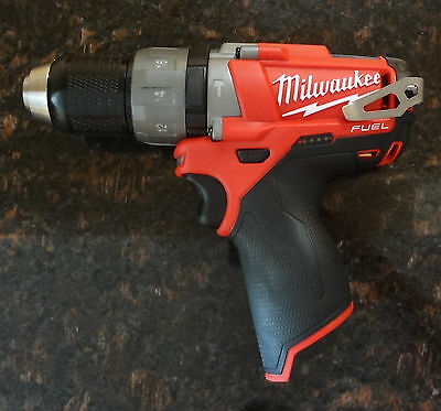 Milwaukee M12 Fuel Brushless 1/2 in. Hammer Drill and Driver (Tool-Only) 2404-20