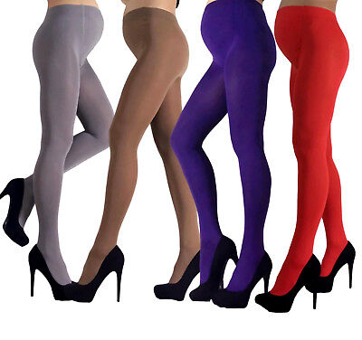 Maternity Pregnancy Warm and Soft Tights Mama Opaque 100 denier Size M - XL