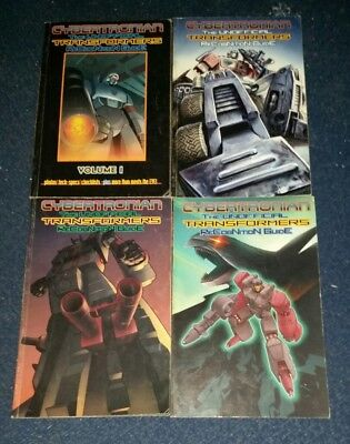 Cybertronian Unofficial Transformers Recognition Guide Volume 1-4 Good Condition