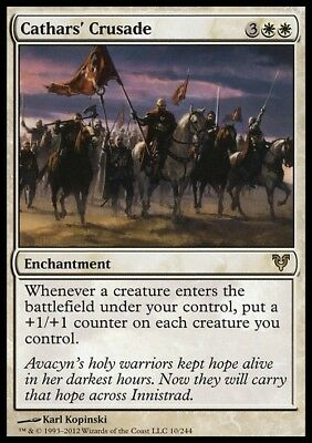 Cathars' Crusade ~ Avacyn Restored ~ NearMint/Excellent+ ~ Magic The Gathering