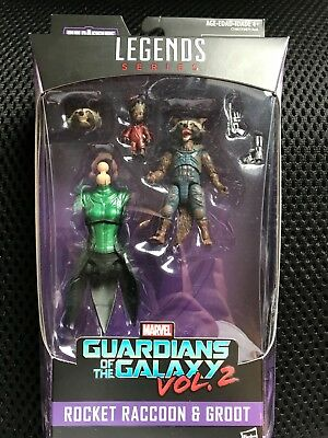 Marvel Guardians of the Galaxy Vol. 2 - Legends Series - Rocket Raccoon & Groot