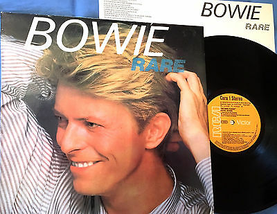 David Bowie - Lp Bowie Rare - Spain Edition 1983 - Rare