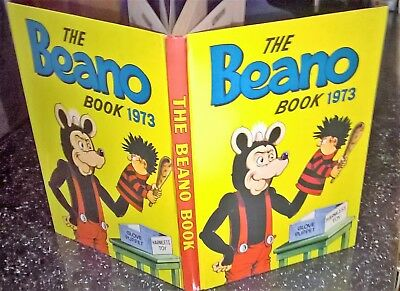 Beano Book job lot! Years: 1973 and 1975 - rare vintage comic annuals
