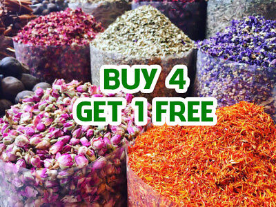 Various Dried Flowers Dry Petals Tea, Confetti - 57+ Types!  Buy 4 GET 1 FREE