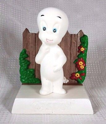 1975 Harvey Famous Cartoons CASPER THE FRIENDLY GHOST 2 Piece Ceramic Figure