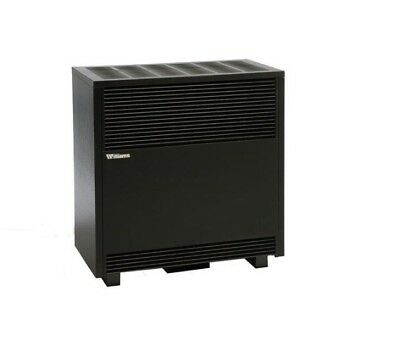 Williams 50,000 BTU/hr Enclosed Front Console Room Natural Gas Heater W/ Blower