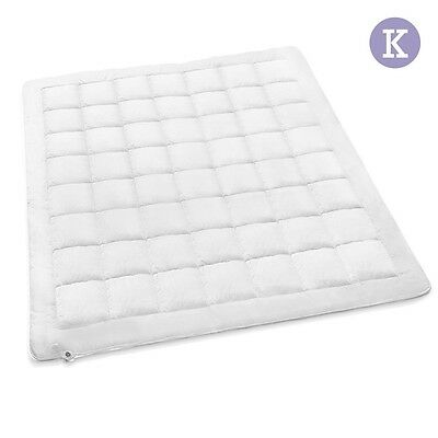 NEW King Bed Size 350GSM Australian Wool Merino Quilt, Down Proof Cotton Cover