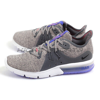 aecb3a283432d Nike Wmns Air Max Sequent 3 Dark Grey Black-Moon Particle Running 908993-
