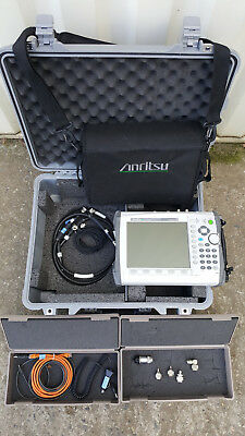 ANRITSU MS2036C VNA Master Spectrum Analyzer Options 2/10/15/19/25/27/31/77