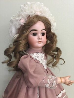 Antique Doll By Schoenau & Hoffmeister Germany On A Comp Body 17""