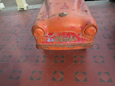 CYCLOPS PEDAL CAR GREAT RESTORATION PROJECT c1950s AUSTRALIAN CYCLOPS in RED