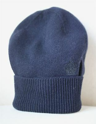 Dolce & Gabbana Navy Blue Cashmere Hat S 2-4 Years