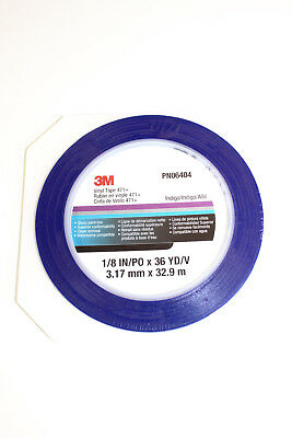 3M 06405 Scotch Konturenband blau 3,17 mm x 33m