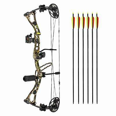 "Superset EK Compoundbogen Axis Folium Camo 23,25-32"" / 30-70 lbs Rechtshandbogen"