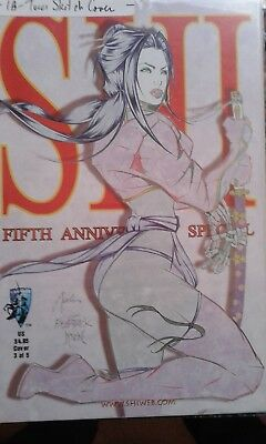 Shi: Fifth Anniversary Special Tucci Sketch Cover