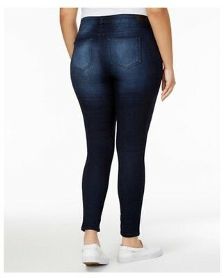 Body Sculpt by Celebrity Pink Trendy Plus Size The Lifter Skinny Jeans  18