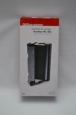 Office Depot Brother PC-401 Plain Paper Fax Cartridge, Fax 560,580 MC,MFC 660MC