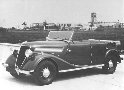 1936 Renault Celtaquatre Tourer ORIGINAL Factory Photo oua2022
